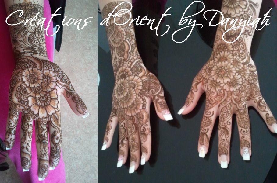 Cérémonie du henné mariage oriental