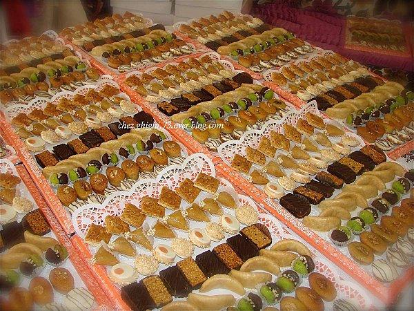 menu mariage oriental