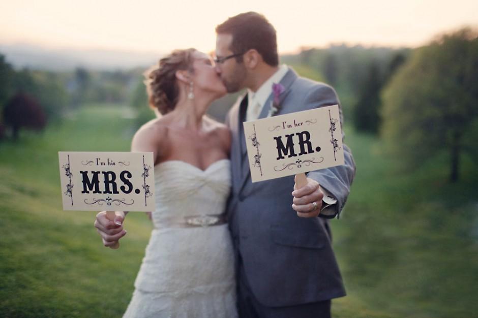 Changer de nom après le mariage ou non ?