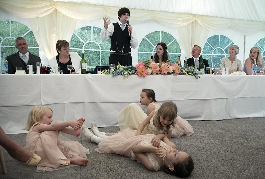 Enfants au mariage