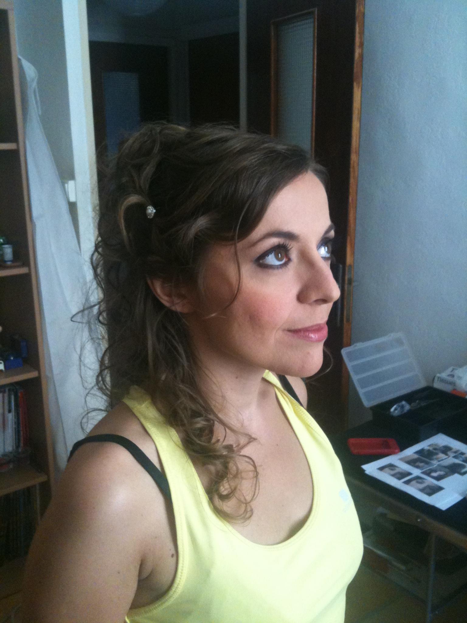 préparatifs jour j coiffure mariage