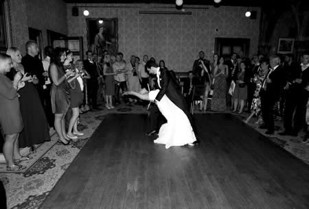 danser mariage