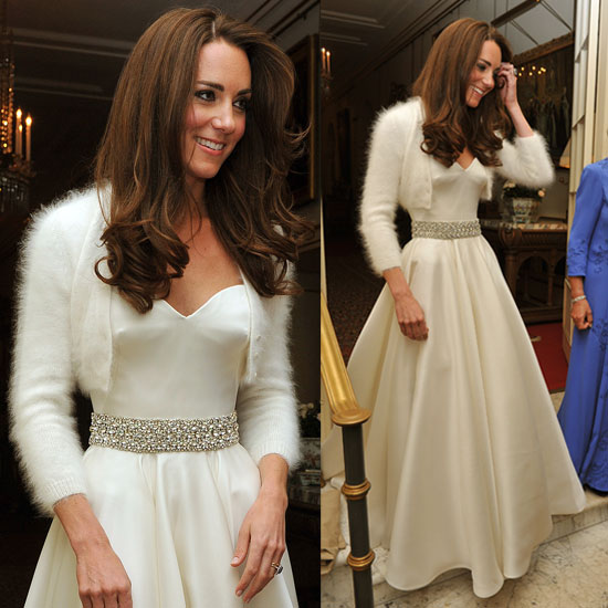 bolero angora de Kate Middletons