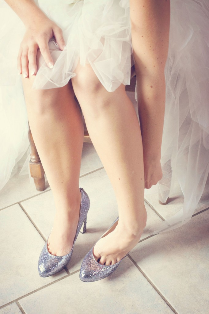 Mariage Mme Fifties chaussures