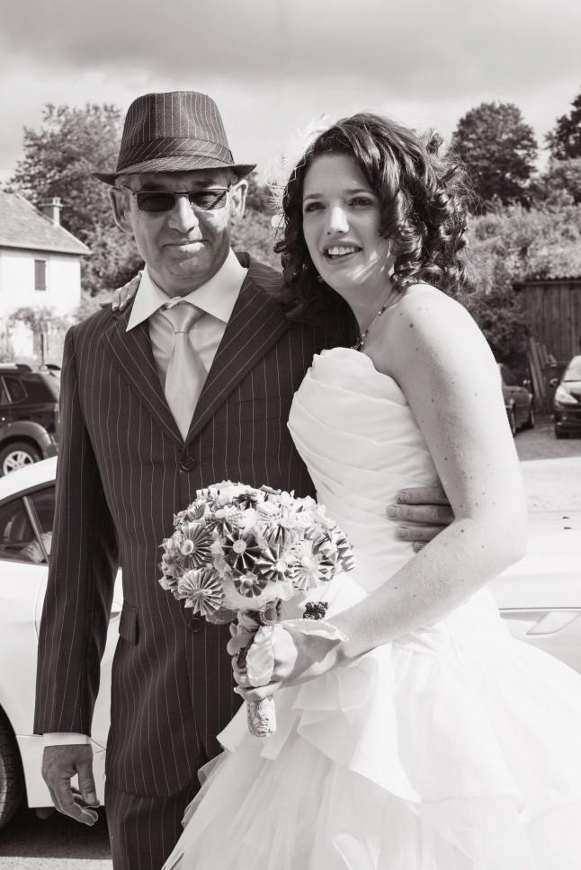 mariée mariage années 50
