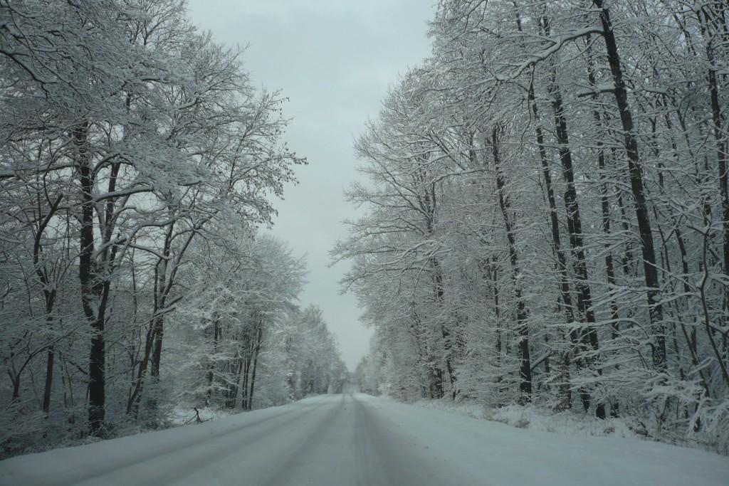 routes pour mariage d'hiver