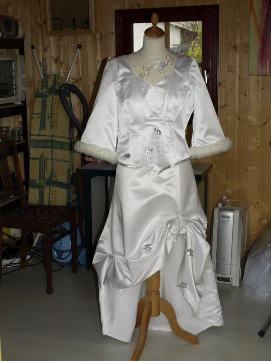 robe de mariée d'hiver