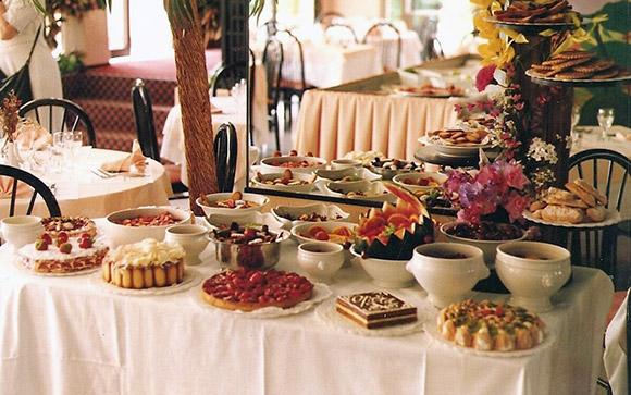 buffet de dessert de mariage