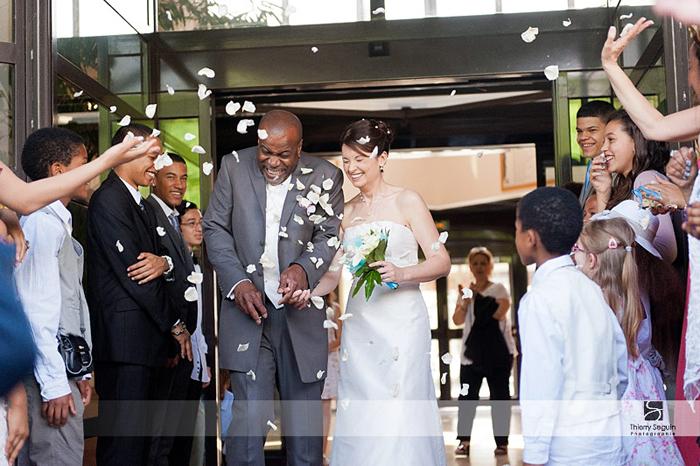 sortie de mairie mariage