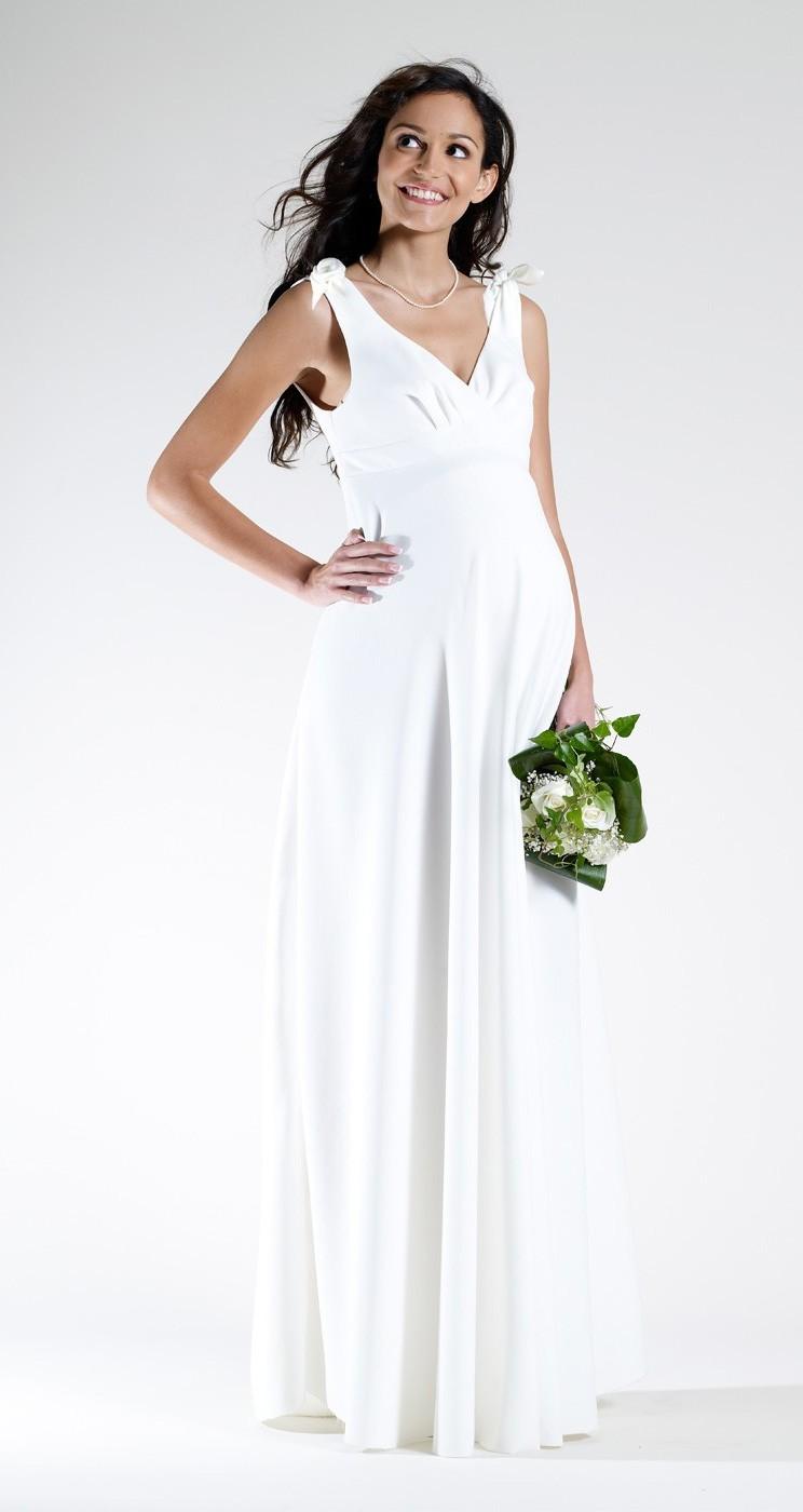 Quelle Robe De Mariée Pour Femme Enceinte Mademoiselle