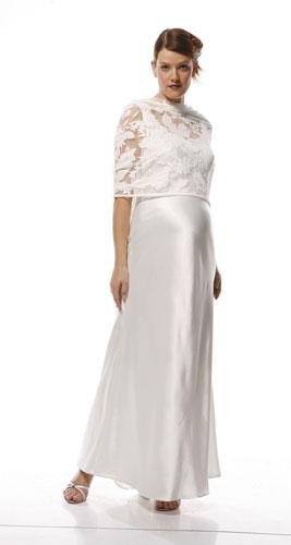 Quelle robe de mariée pour femme enceinte ?