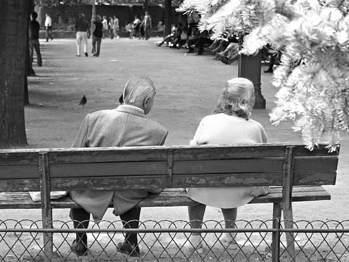 couple d'anciens