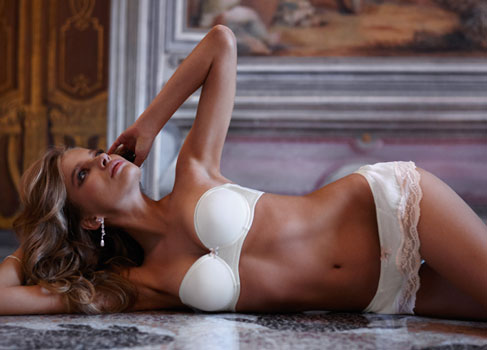 lingerie Intimissimi mariée