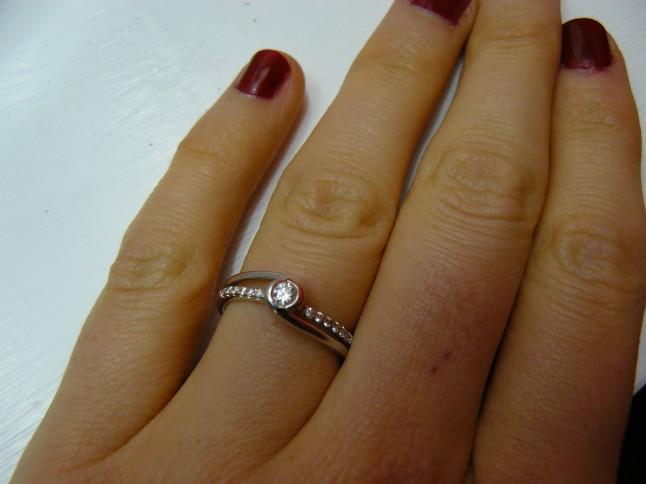 bague de fiançailles Mlle Nya