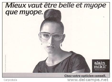 publicité lunettes