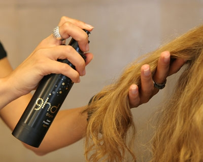spray cheveux