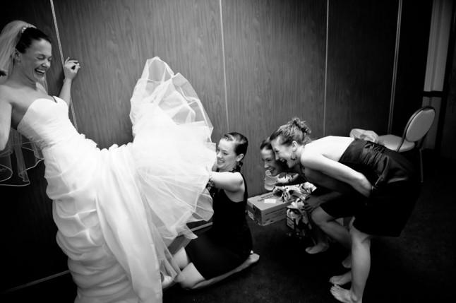amies de la mariée