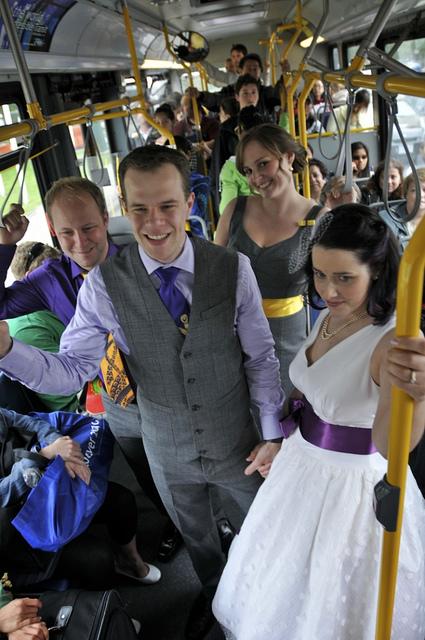 mariés bus