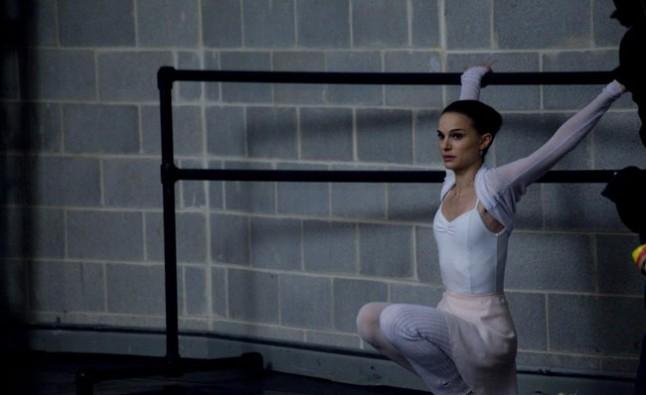 Natalie Portman à l'entraînement