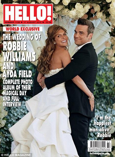 mariage Robbie Williams