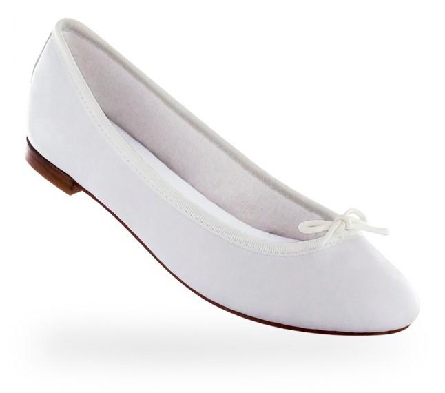 ballerine Repetto blanche