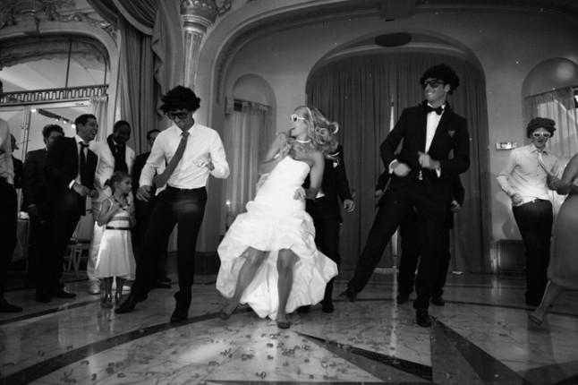 mariage rouge blanc premiere danse