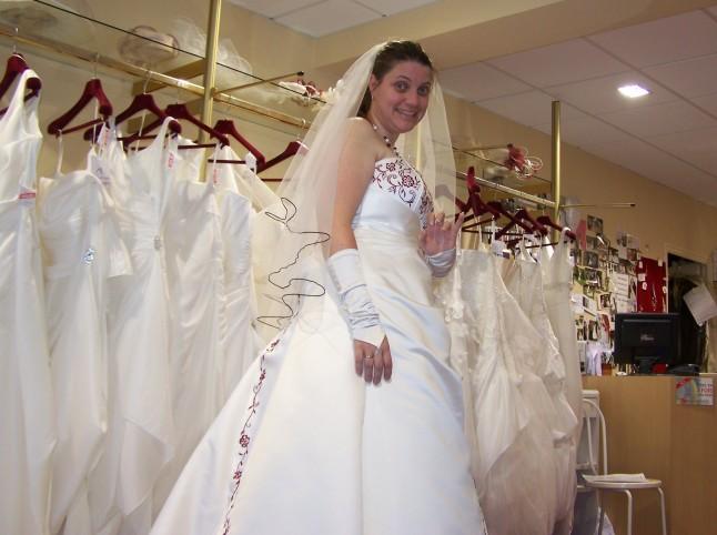 robe de mariée Mlle Jo