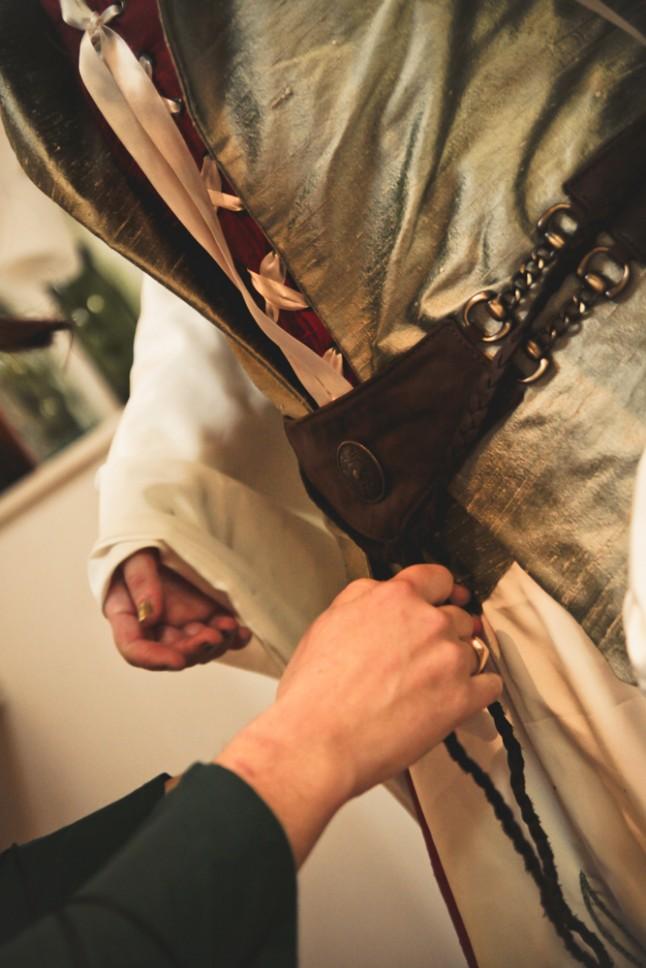 ceinture - robe médiévale