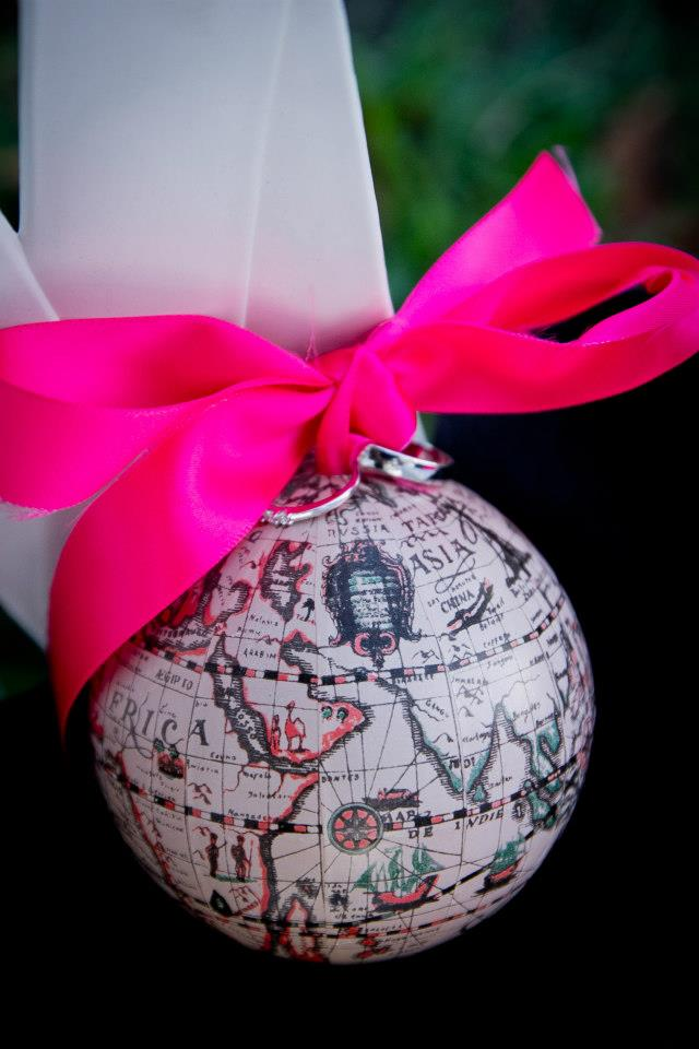 porte-alliances globe terrestre