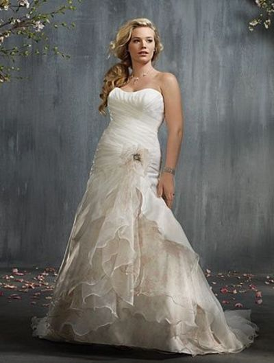 robe Alfred Angelo, Plus Style Bridal