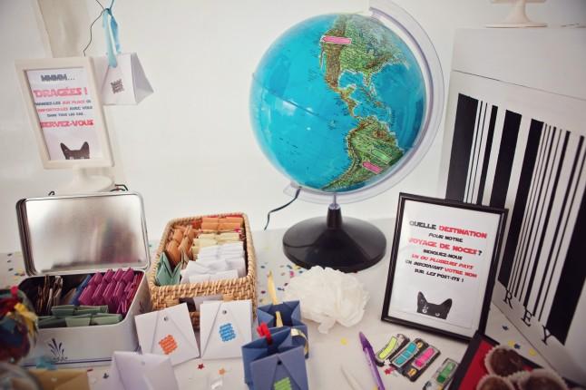globe terrestre destinations voyage de noces
