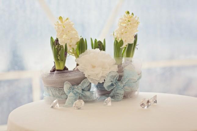 déco florale mariage Mme Nya