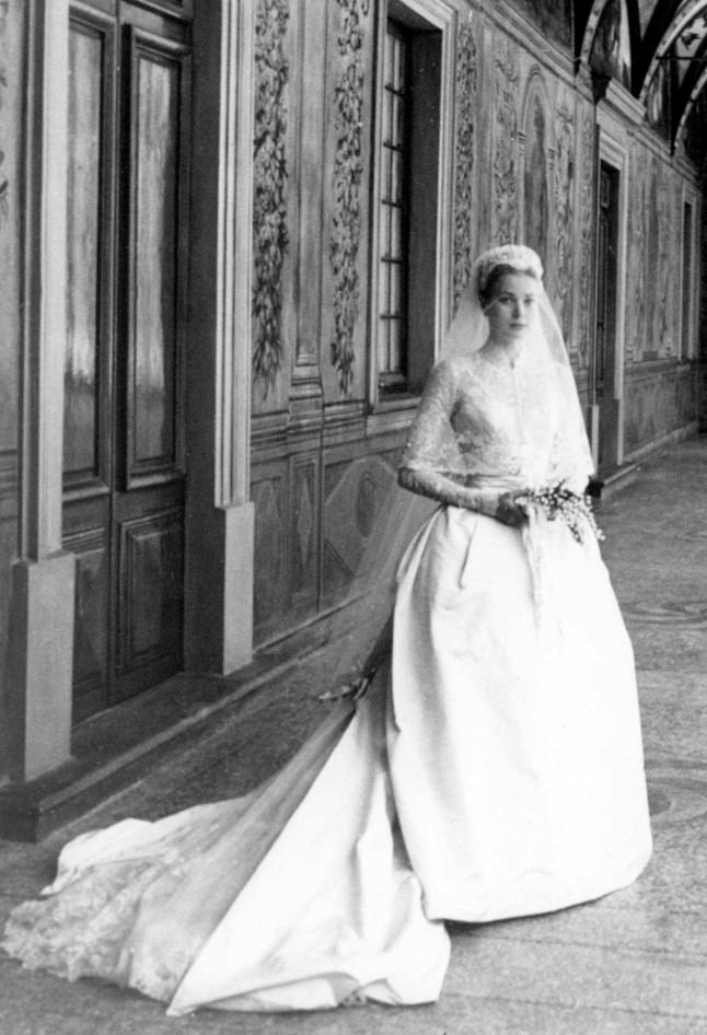 Grace Kelly mariée