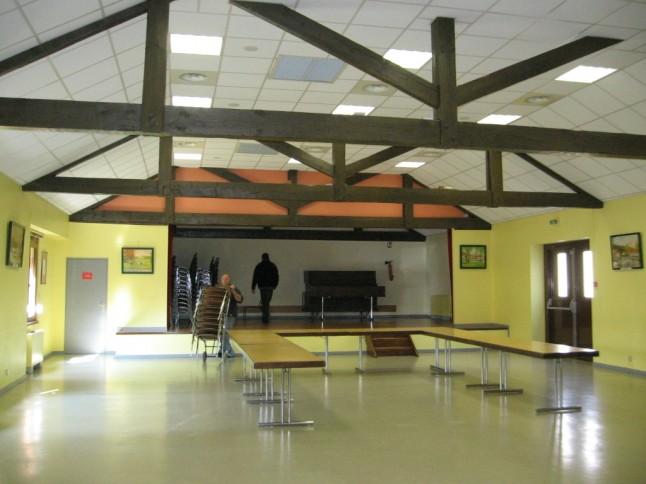 Grande salle, vue du fond