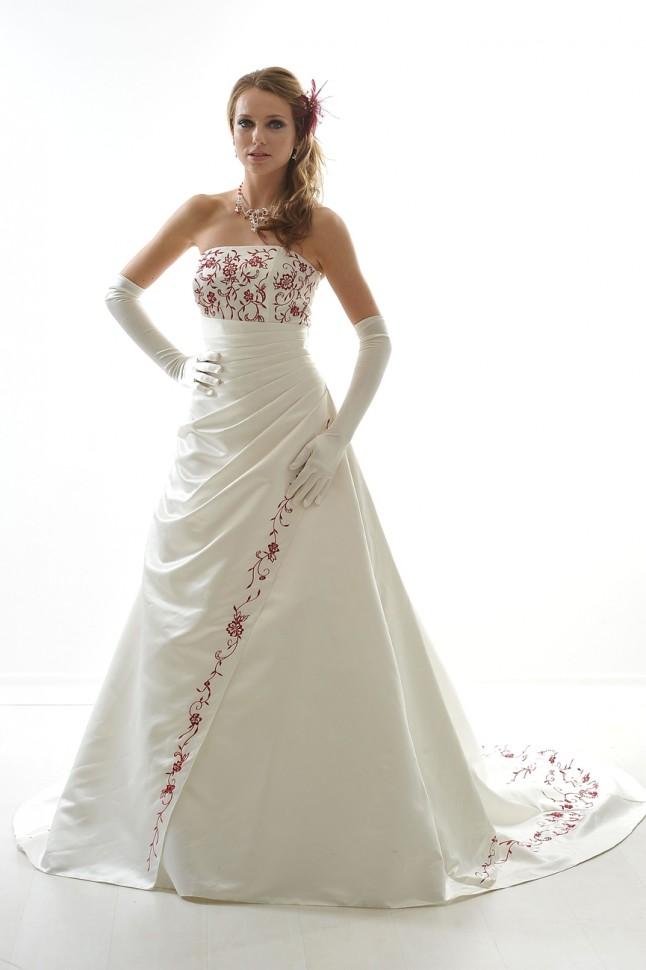 robe bicolore Mariages et Mariages, Carmen