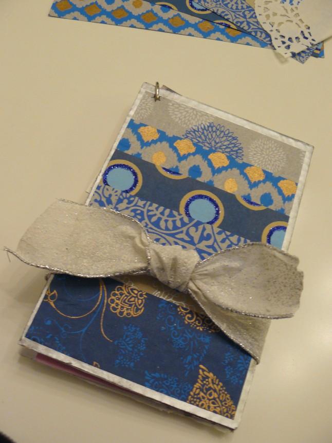 Livret de cartes de félicitations