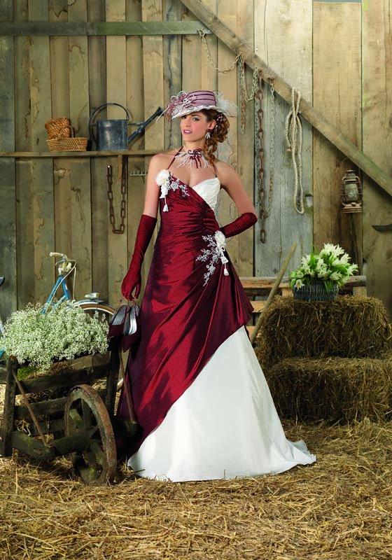 Les Robes De Mariée Et Coiffures De Style Champêtre