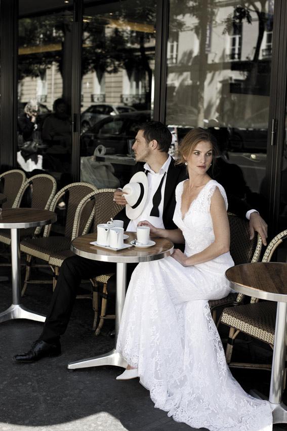 mariés au café
