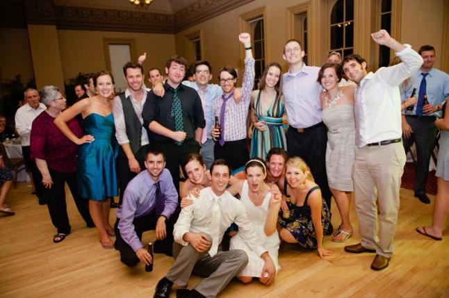 famille et amis mariage