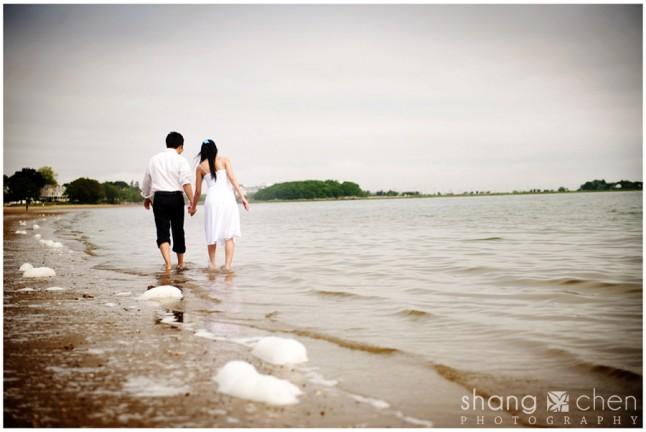 couple bord de mer