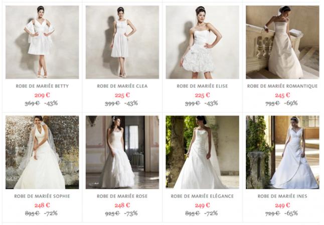 vente robe de mariée petit prix