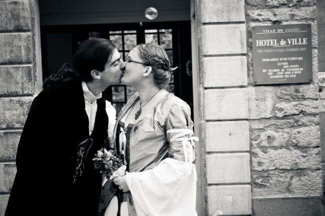 sortie mairie mariage médiéval