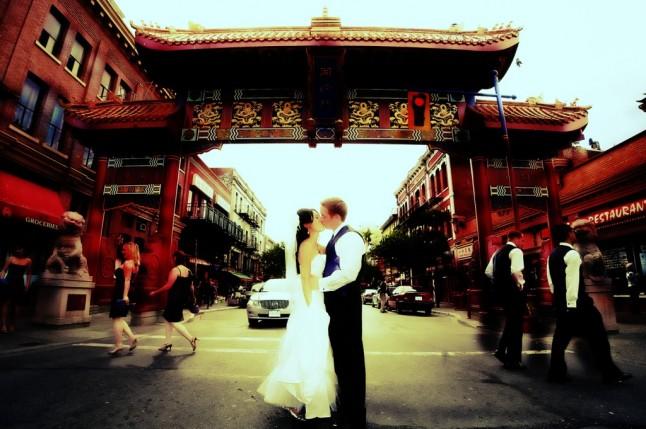 mariage à Chinatown