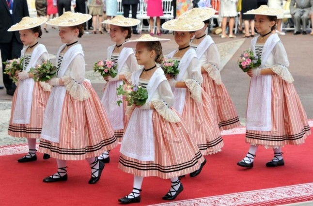 Cortège Princesse de Monaco