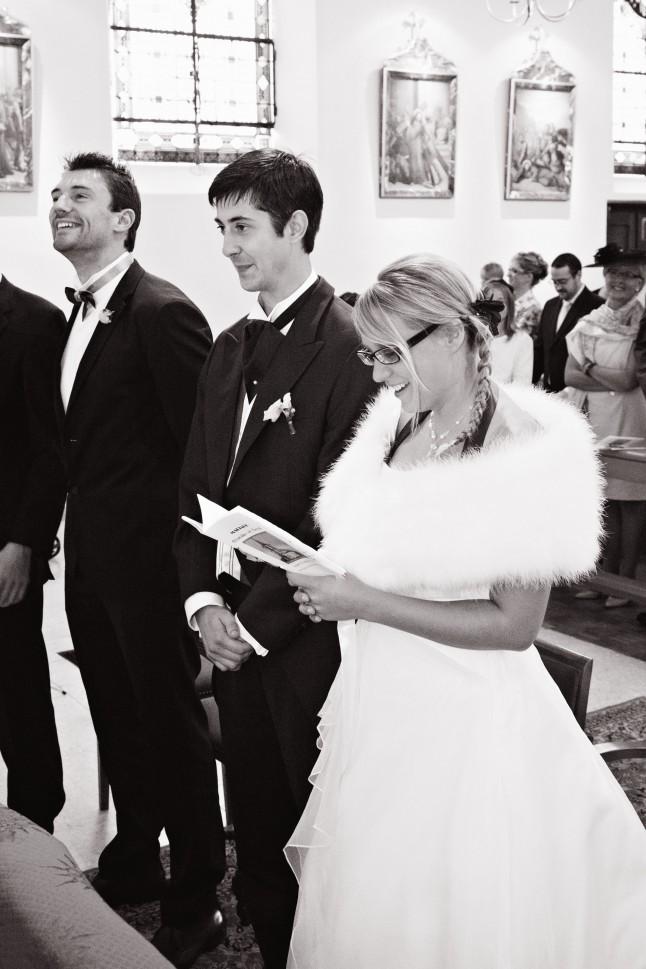 mariés église