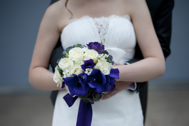 mariage Abbaye de Collonges thème oiseau bouquet