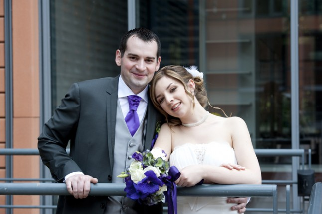mariage Abbaye de Collonges thème oiseau mariés