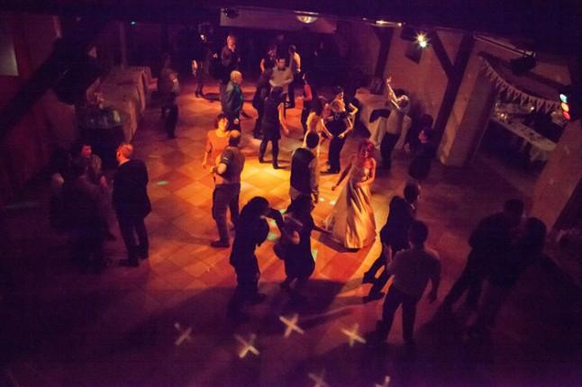 mariage neige chateau mariée rousse soirée dansante