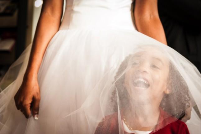 mariage paris péniche mariee