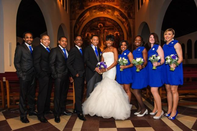 mariage paris péniche photo groupe